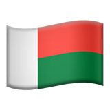 emoji 🇲🇬 | drapeau : Madagascar | apple | 240 x 240