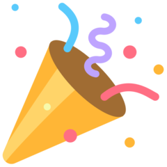 emoji 🎉 | party popper | mozilla | 240 x 240