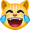 emoji 😹 | cat with tears of joy | facebook | 60 x 60