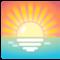 Emoji: 🌅, Code: 1F305