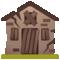 Emoji: 🏚, Code: 1F3DA