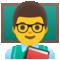 Emoji: 👨🏫, Code: 1F468 200D 1F3EB