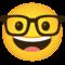 Emoji: 🤓, Code: 1F913