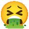 Emoji: 🤮, Code: 1F92E