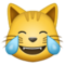 emoji 😹 | cat with tears of joy | samsung | 60 x 60