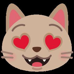 Katze bedeutung herzaugen emoji mit 😍 lächelndes