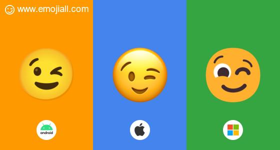 Smiley wat betekent 😍 Emoji
