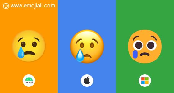 😢 ความหมาย ร้องไห้ emoji อิโมจิ สำเนา  emoji พจนานุกรมอิ