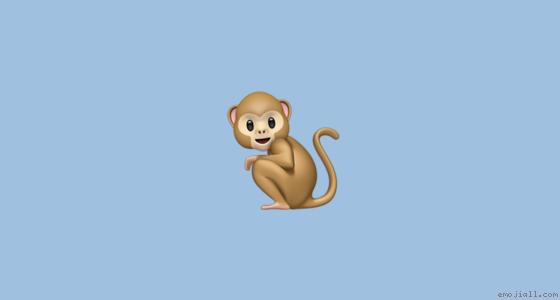 🐒意思 猴子emoji复制  emoji表情符号词典 📓  emojiall中文官方网站