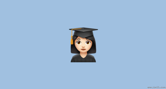 Arti Sarjana Wanita Warna Kulit Cerah Emoji Salinan Kamus Emoji Emojiall Situs Resmi Bahasa Indonesia