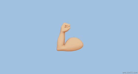 💪🏼意思 肌肉 中等浅肤色emoji复制  emoji表情符号词典 📓  emojiall中文官方网站