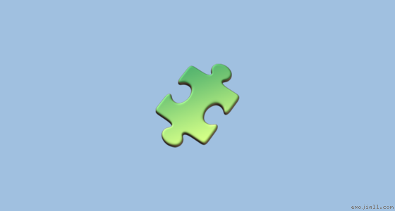 Meaning Puzzle Piece Emoji Copy Emoji Dictionary Emojiall English Official Website