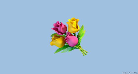 💐意思 花束 一把花emoji複製  emoji表情符號詞典 📓  emojiall中文官方網站